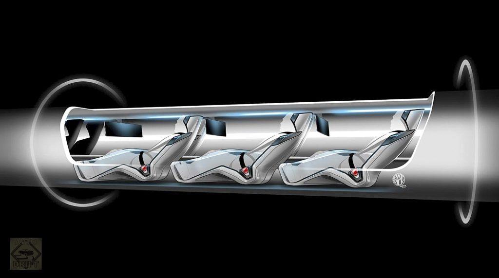 proekt sverhzvukovogo vakuumnogo poezda Hyperloop One 1024x571 - Компании  Илона Маска грозит фиаско