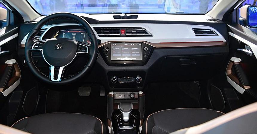 sol e20x 2 - JAC и Volkswagen начали выпускать новый электрический кроссовер под маркой SOL
