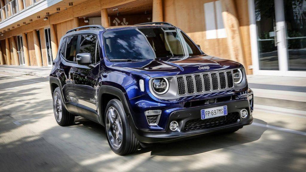 2019 jeep renegade facelift 1 1024x576 - Корпорация «Fiat Chrysler Automobiles» представляет обновлённый Jeep Renegade
