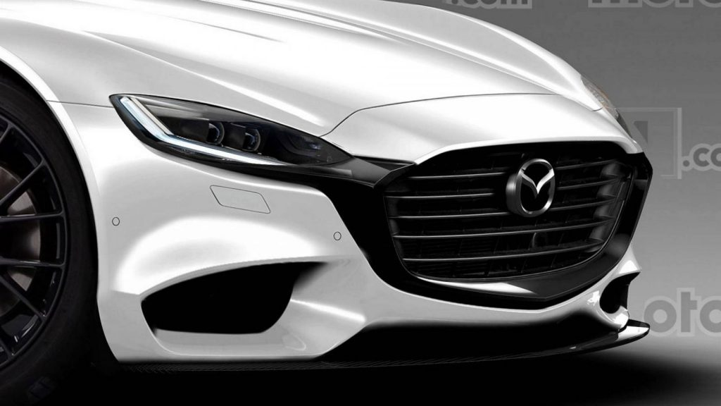 4125 1024x576 - Опубликованы изображения нового спорткара Mazda RX-9