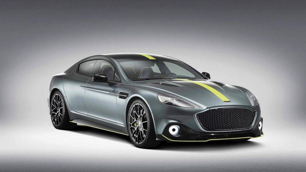 aston martin rapide amr 1 1024x576 - Кампания Aston Martin представила прощальную версию бензинового лифтбека Rapide AMR