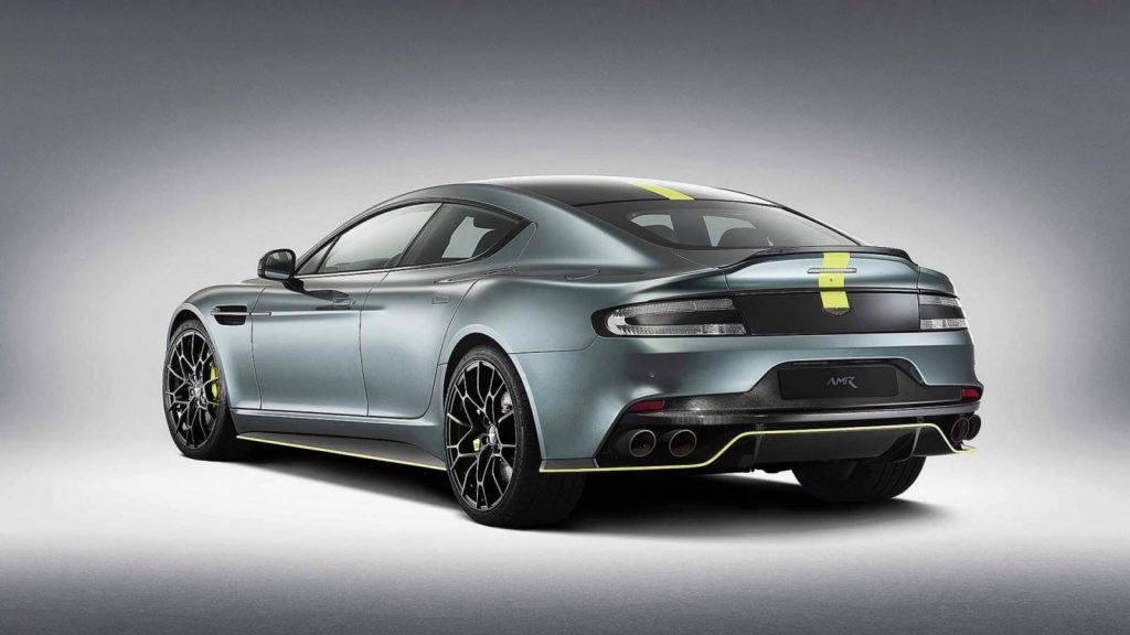aston martin rapide amr 2 1024x576 - Кампания Aston Martin представила прощальную версию бензинового лифтбека Rapide AMR