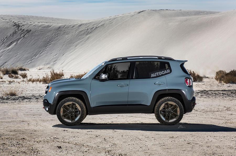 fca news 3912  jeep small suv render - Компания Jeep планирует выпустить ультракомпактный кроссовер к 2022 году