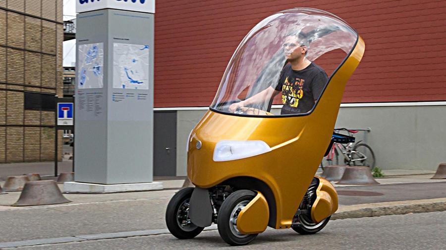 bicar 2 - Студенты из Швейцарии придумали молодёжный минимобиль, позволяющий не стоять в пробках