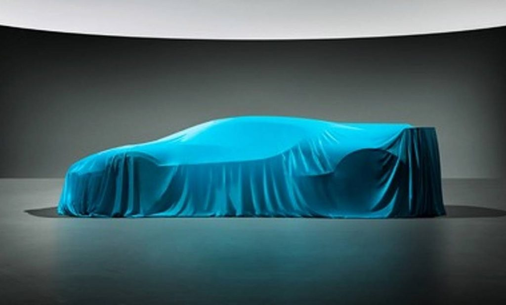 bugatti divo teaser 1024x618 - Bugatti продемонстрировала силуэт нового гиперкара за 5 млн. евро