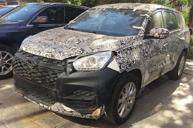 2018 09 23 chery 1 - Фотографии нового совместного проекта Chery и Jaguar Land Rover утекли в сеть