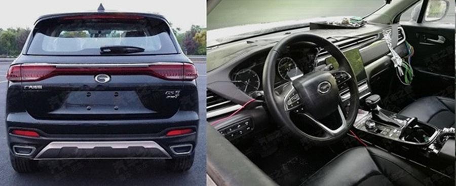 3123121215b3de0f2ec05c4200a000082 - Китайский автопроизводитель GAC везёт на «ParisMotor Show 2018» свой новый кроссовер GS5
