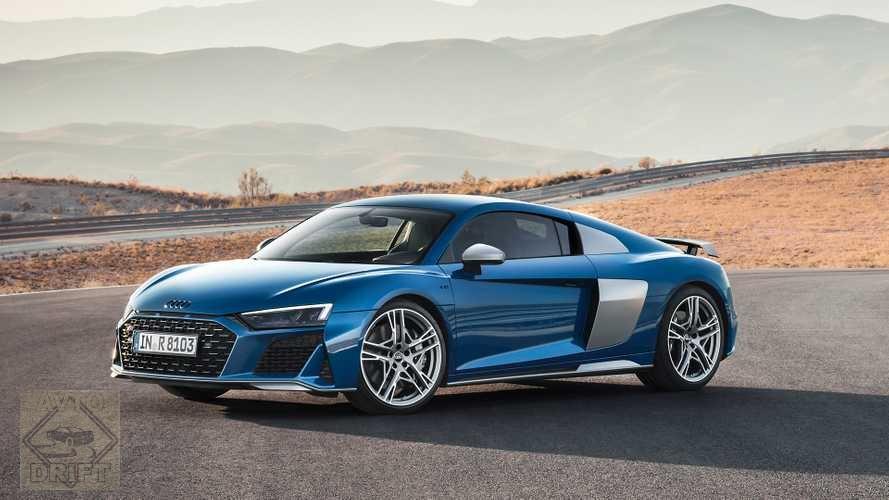 546576767 - Audi опубликовала фото обновлённого суперкара R8