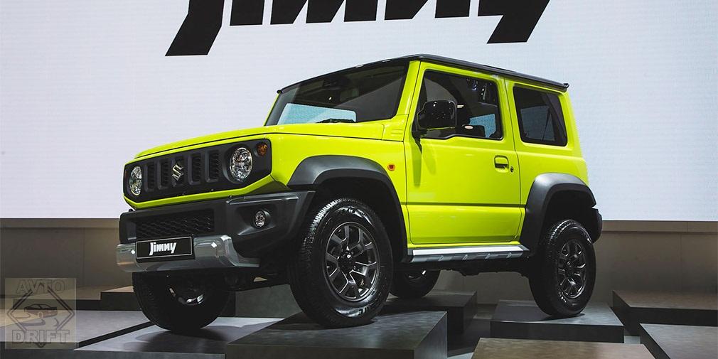 97886775 - Suzuki везёт в Россию обновлённые кроссоверы Vitara и Jimny