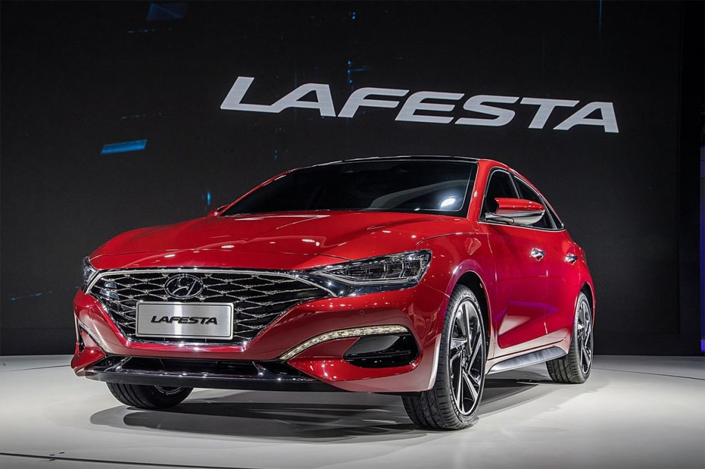 Hyundai Lafesta 2018 2019 1 min 1024x681 - Стартовало производство стильного седана Hyundai Lafesta