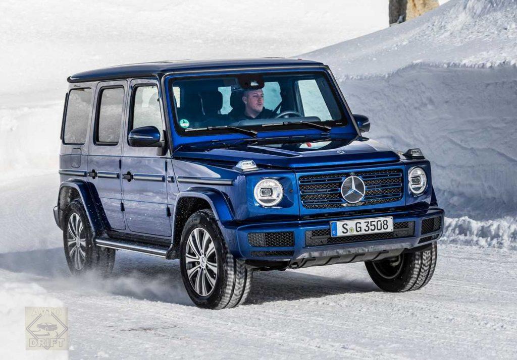 2019 mercedes benz g 350 d 1024x714 - Mercedes-Benz представил дизельную версию «Гелика»