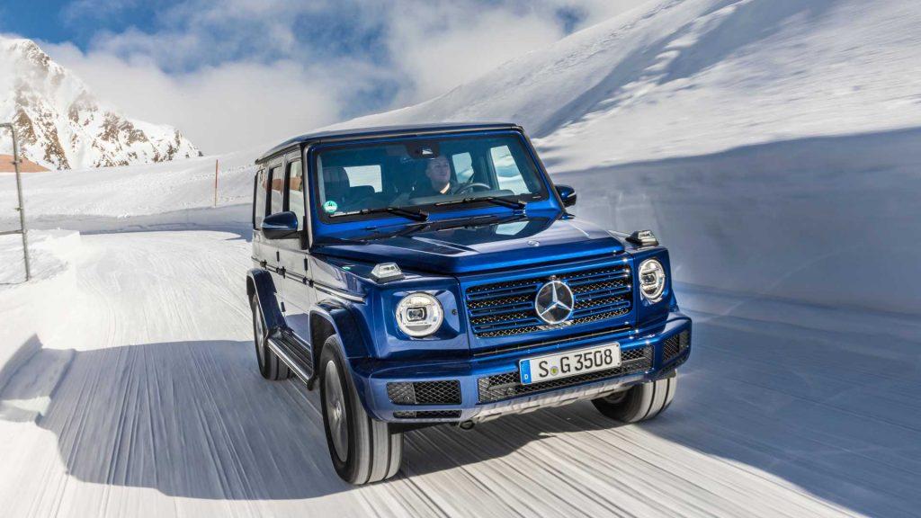 2019 mercedes benz g 350 d 2 1024x576 - Mercedes-Benz представил дизельную версию «Гелика»