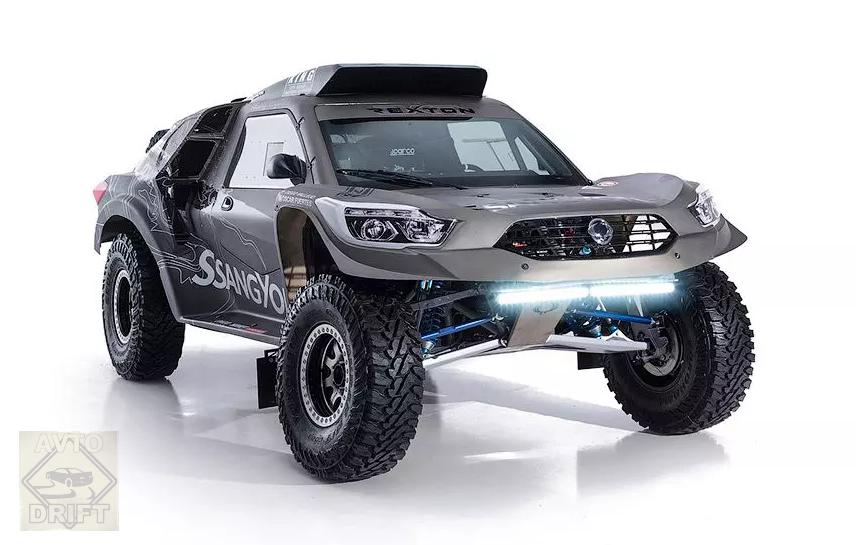 45657680 - SsangYong представила модель для участия в ралли-рейде «Дакар»