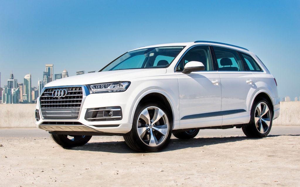 audi q7 2018 cars suvs luxury cars white q7 1024x640 - Кроссовер Audi Q7 будут собирать в Калининграде