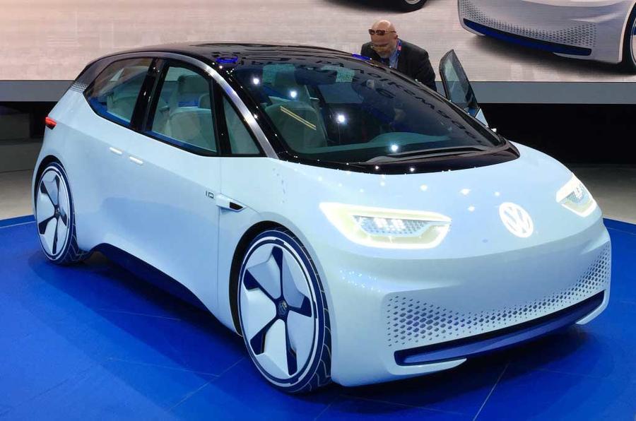 id - Электромобиль Volkswagen ID вышел на дорожные испытания