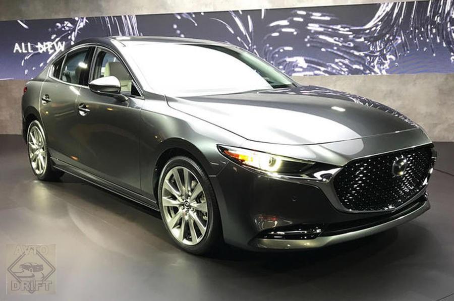 mazda 3 saloon - Mazda определилась со сроками выпуска своего первого электромобиля