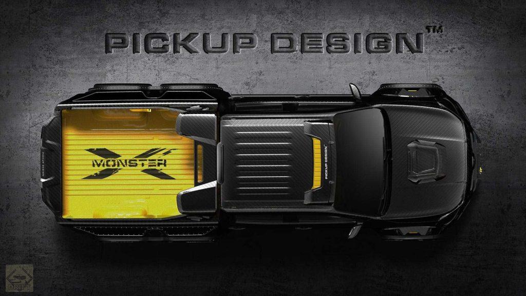 pickup design exy monster x concept mercedes benz x class 4 1024x576 - Пикап Mercedes-Benz X-Class получил 6-колёсную версию