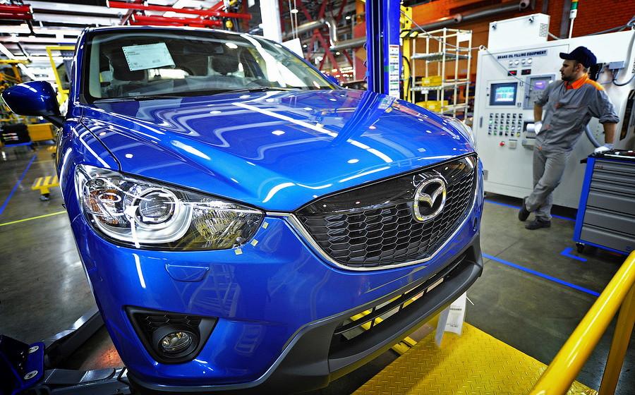 sollers9 - Первый электронный сертификат получила Mazda