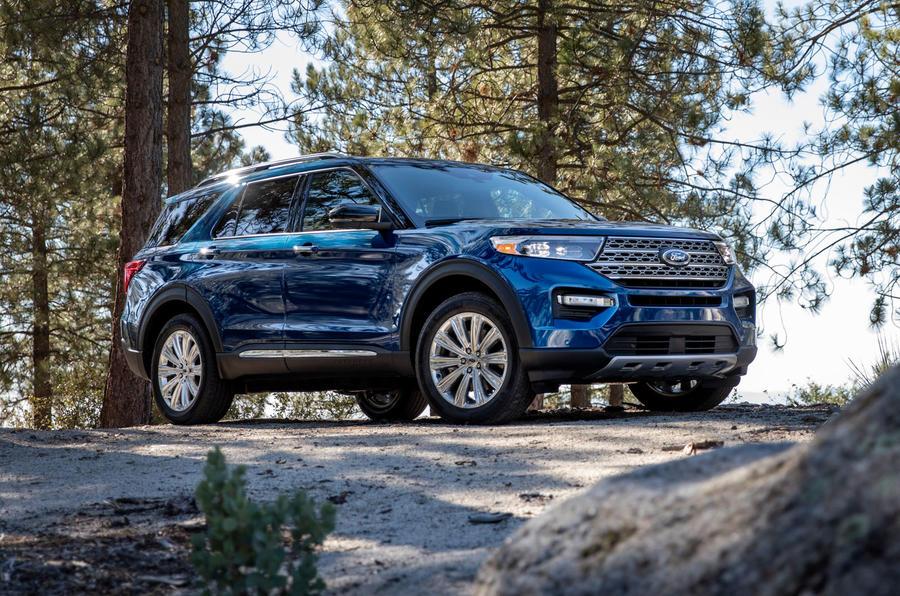 1 ford explorer limited - Ford представит шестое поколение внедорожника Explorer в Детройте