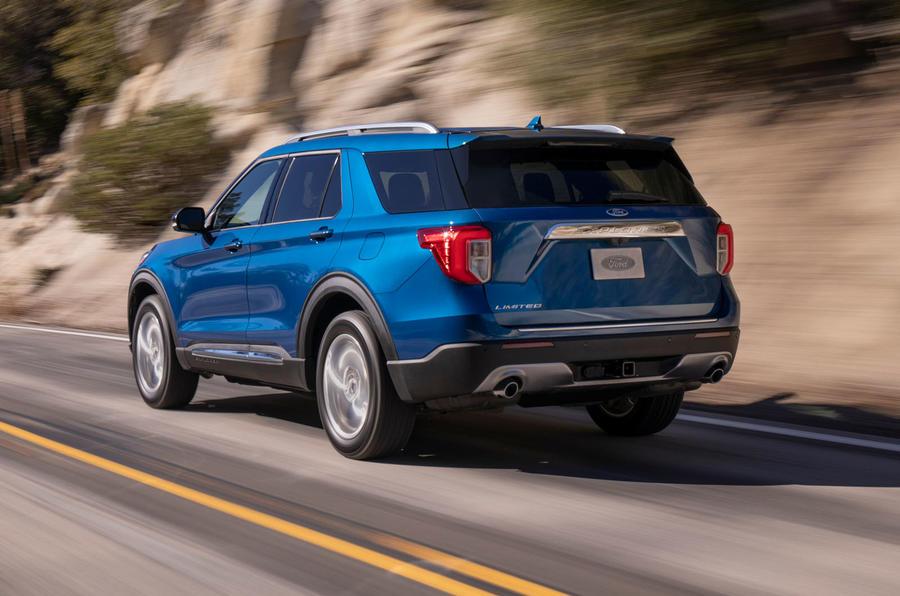 8 ford explorer limited - Ford представит шестое поколение внедорожника Explorer в Детройте
