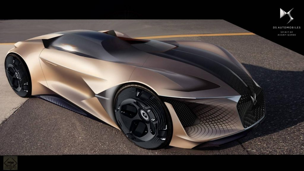 ds x e tense concept 1024x576 1024x576 - Автомобиль будущего: Появились первые фотографии асимметричного автомобиля