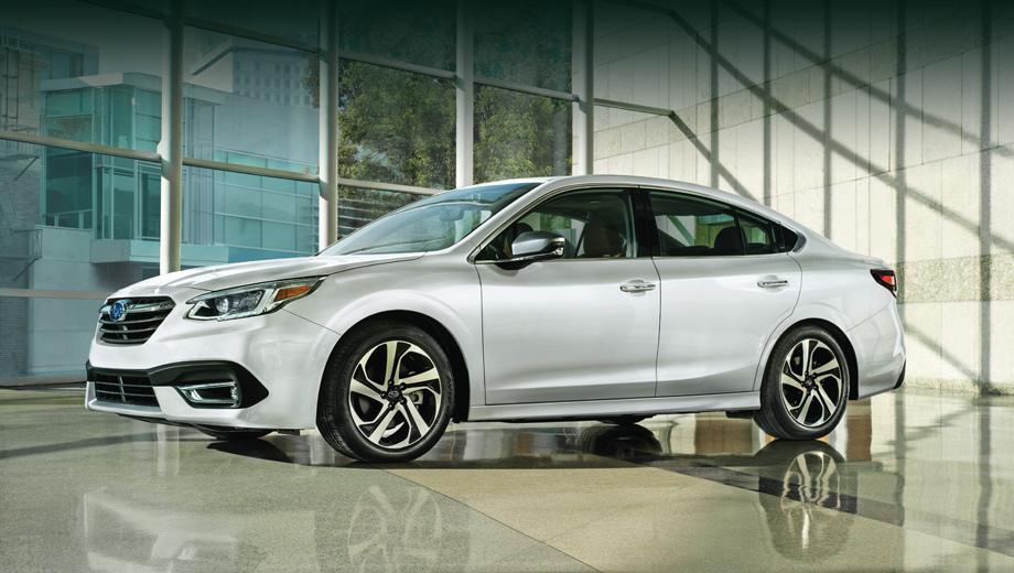 5c5c545aec05c45104000012 - В Чикаго представили совершенно новый Subaru Legacy