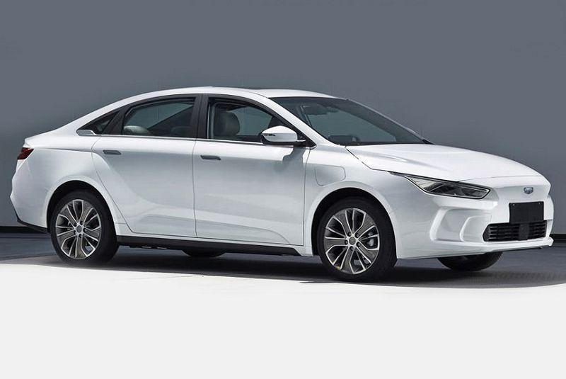 Geely GE11 2019 8 1 - Geely представила салон конкурента Tesla