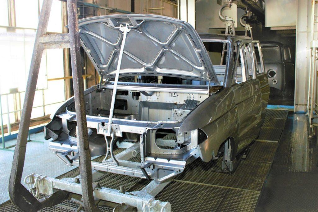 PPG 1024x682 - УАЗ в два раза улучшил коррозионную стойкость своих рам и мостов
