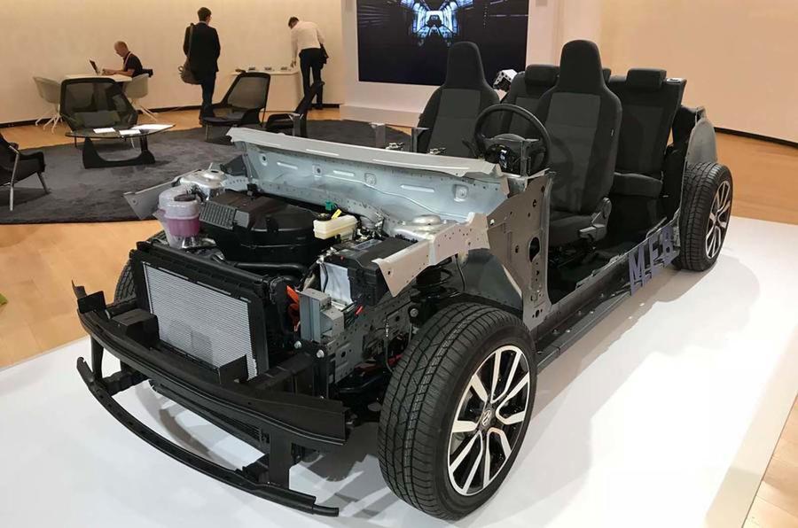 vw meb platform - Volkswagen подтвердил свои планы по выпуску «народного электромобиля»