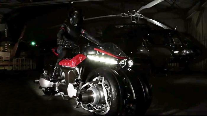 M lazareth lmv 496 7 OK - Летающий мотоцикл - это уже не фантастика!
