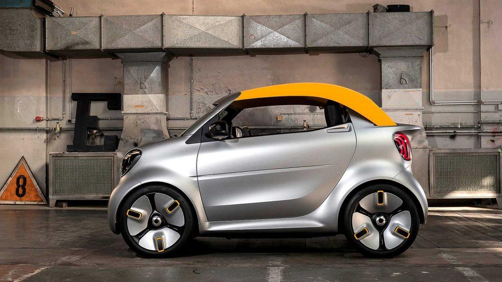 smart forease concept 2 1024x576 - В Женеву едет самый маленький кабриолет на электрической тяге