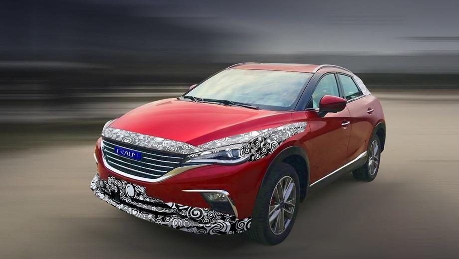 12423 - Новый кроссовер Zotye Traum Meet 5 способен «выдавить» Mazda CX-4 с авторынка