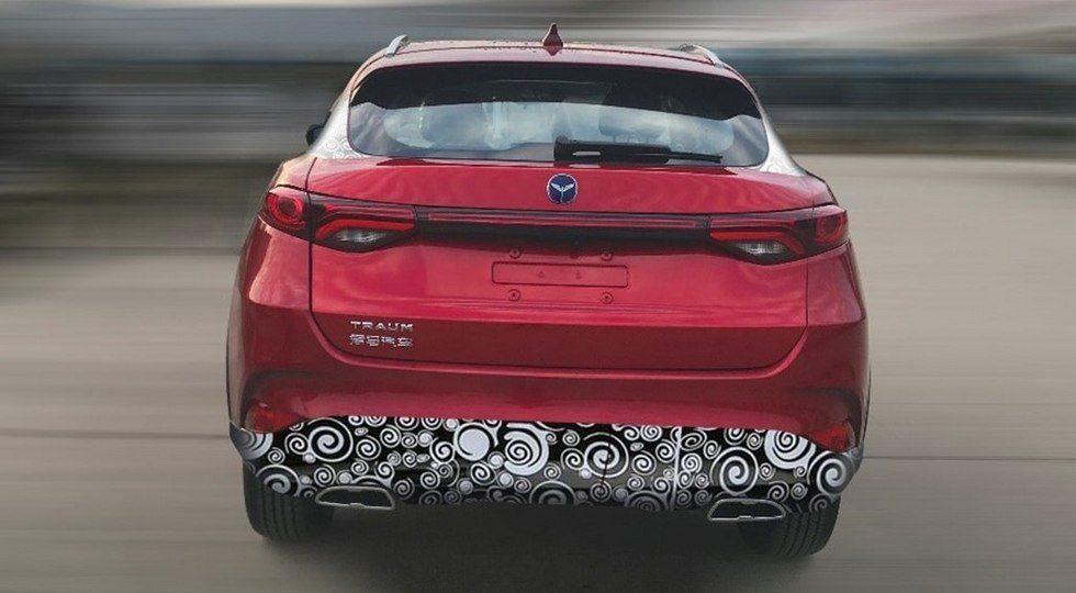 21084 - Новый кроссовер Zotye Traum Meet 5 способен «выдавить» Mazda CX-4 с авторынка