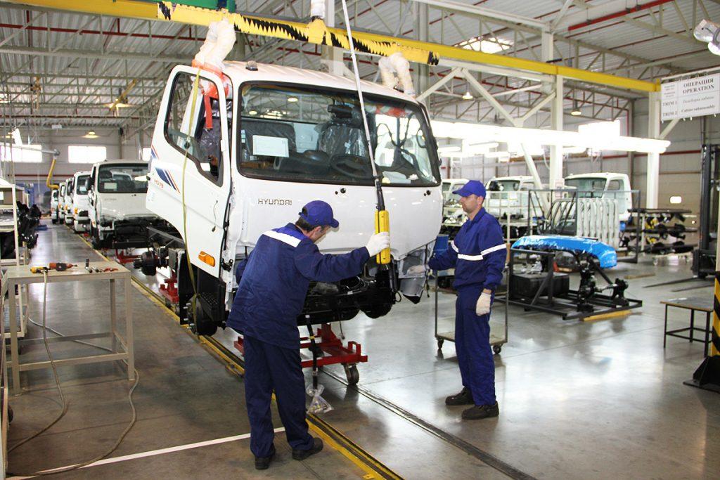 avtotor 005 1024x683 - Новый среднетоннажный грузовичок Hyundai New Mighty будут собирать в Калининграде