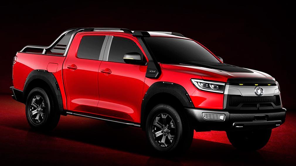 wall1 - Great Wall готовится представить конкурента Toyota Hilux