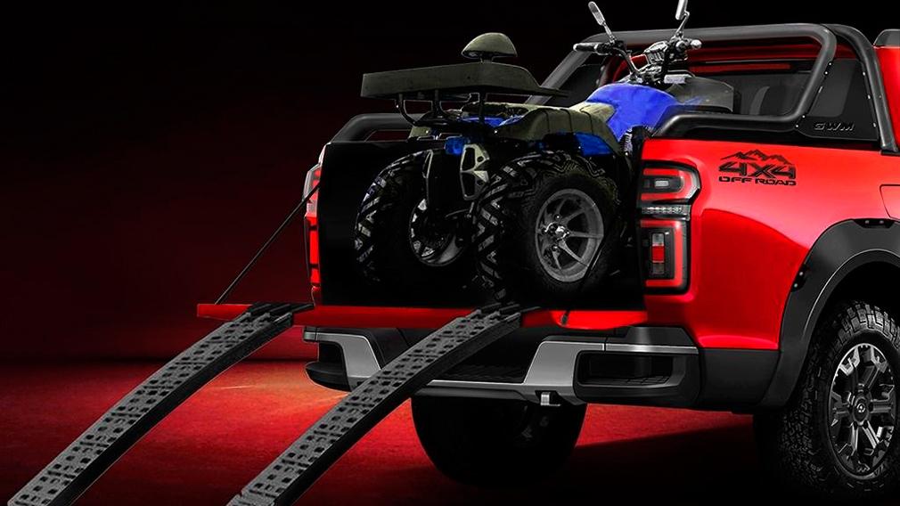 wall2 - Great Wall готовится представить конкурента Toyota Hilux