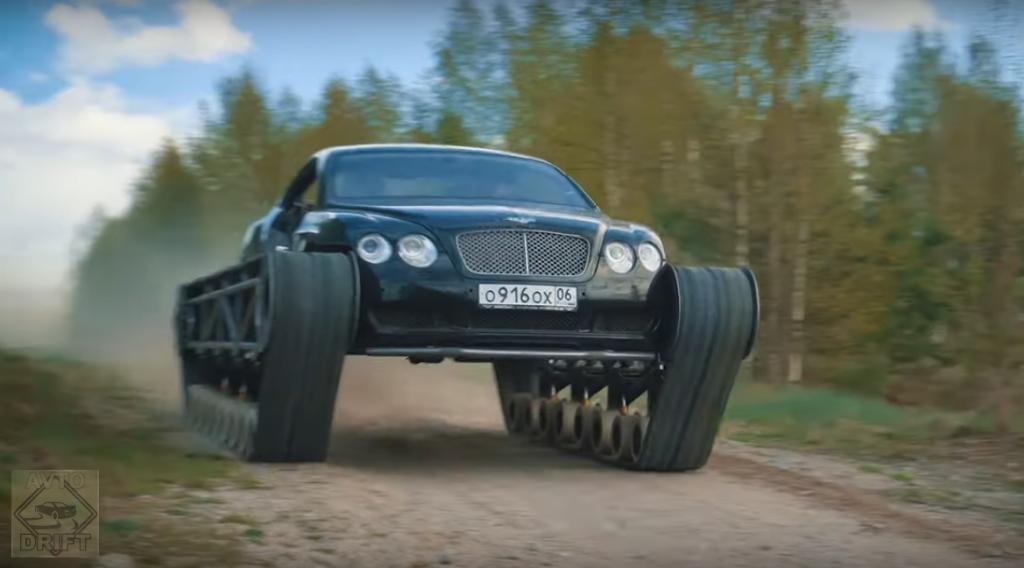 Bezymyannyj1 1024x568 - Российские кудесники смастерили из Bentley танк