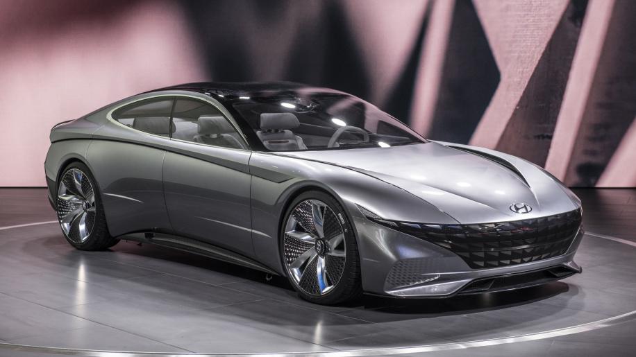 Hyundai Le Fil Rouge Concept 1 - Концепт Le Fil Rouge стал родоначальником будущих моделей Hyundai