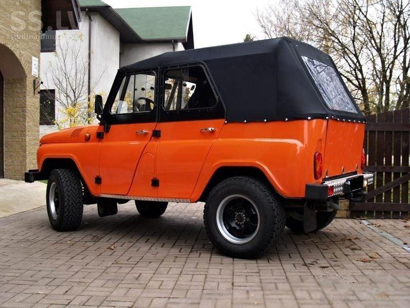 1 019 - Неизвестная в России версия УАЗ Хантер