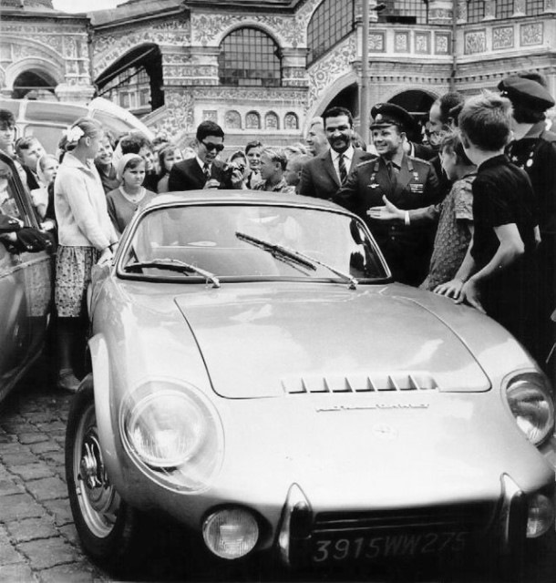 43dc722s 960 - Первый обладатель капиталистического спортивного автомобиля в СССР