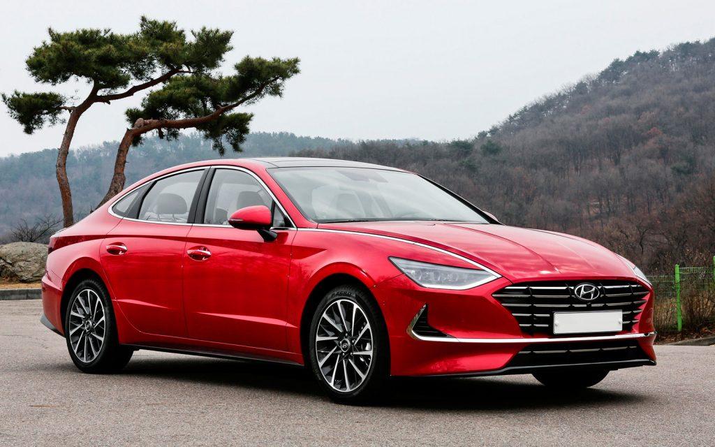 Sonata 8 front 1024x640 - Новая Hyundai Sonata стандартизировался в России