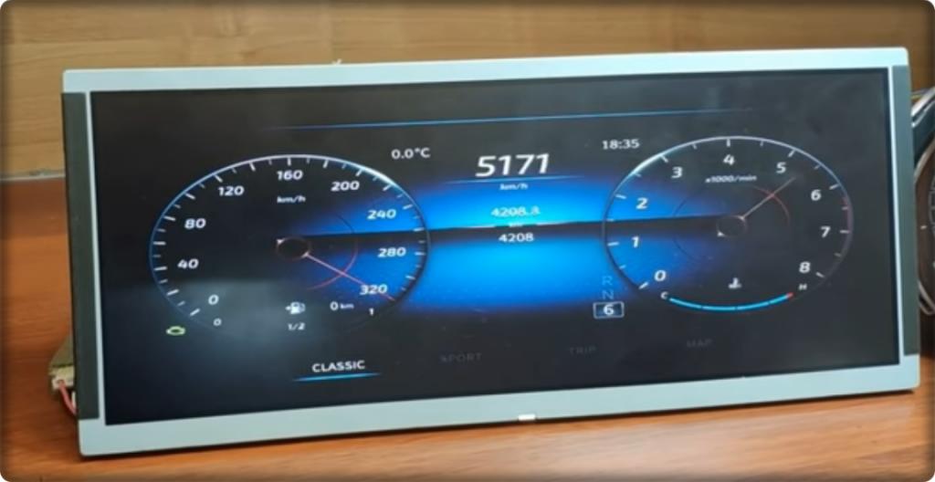 lada 1331311135 1024x528 - Цифровая приборная панель для Lada Vesta: Цена и дизайн