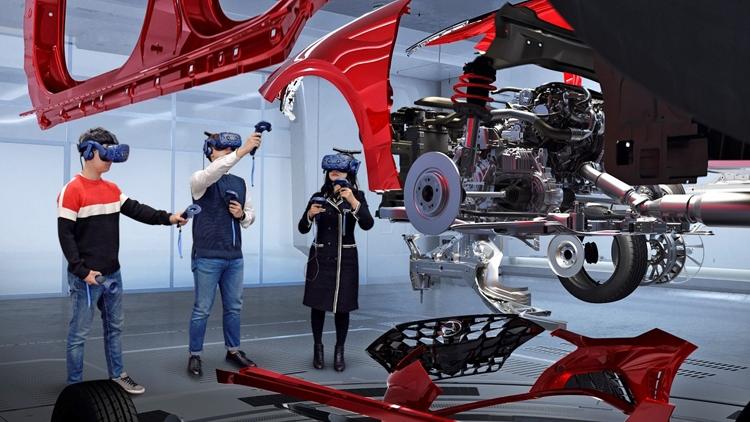 vr4 - Ноу-хао от Hyundai: Очки виртуальной реальности в помощь конструкторам