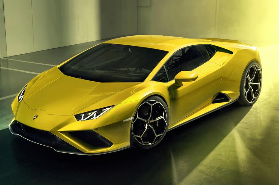 1lamborghinihuracanevo3 1 - Lamborghini представила заднеприводную версию суперкара Huracan Evo