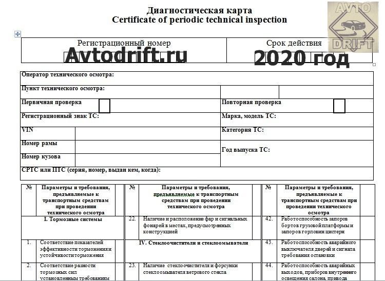 8e2c9211f783ad839f33f3d0605da8f3 - В России внесены изменения в правила прохождения ТО