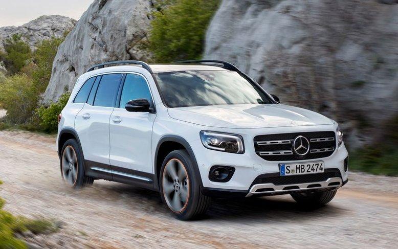 """Mercedes Benz GLB 2 - Немцы выпустили новую """"бюджетную"""" версию кроссовера Mercedes-Benz GLB"""