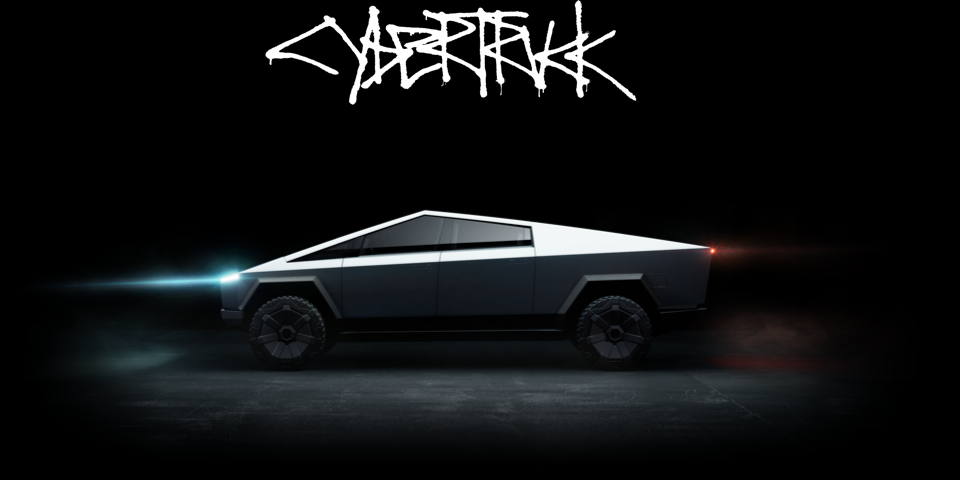 """13 Desktop Order - В Китае открыт предзаказ на """"виртуальный"""" Tesla Cybertruck"""